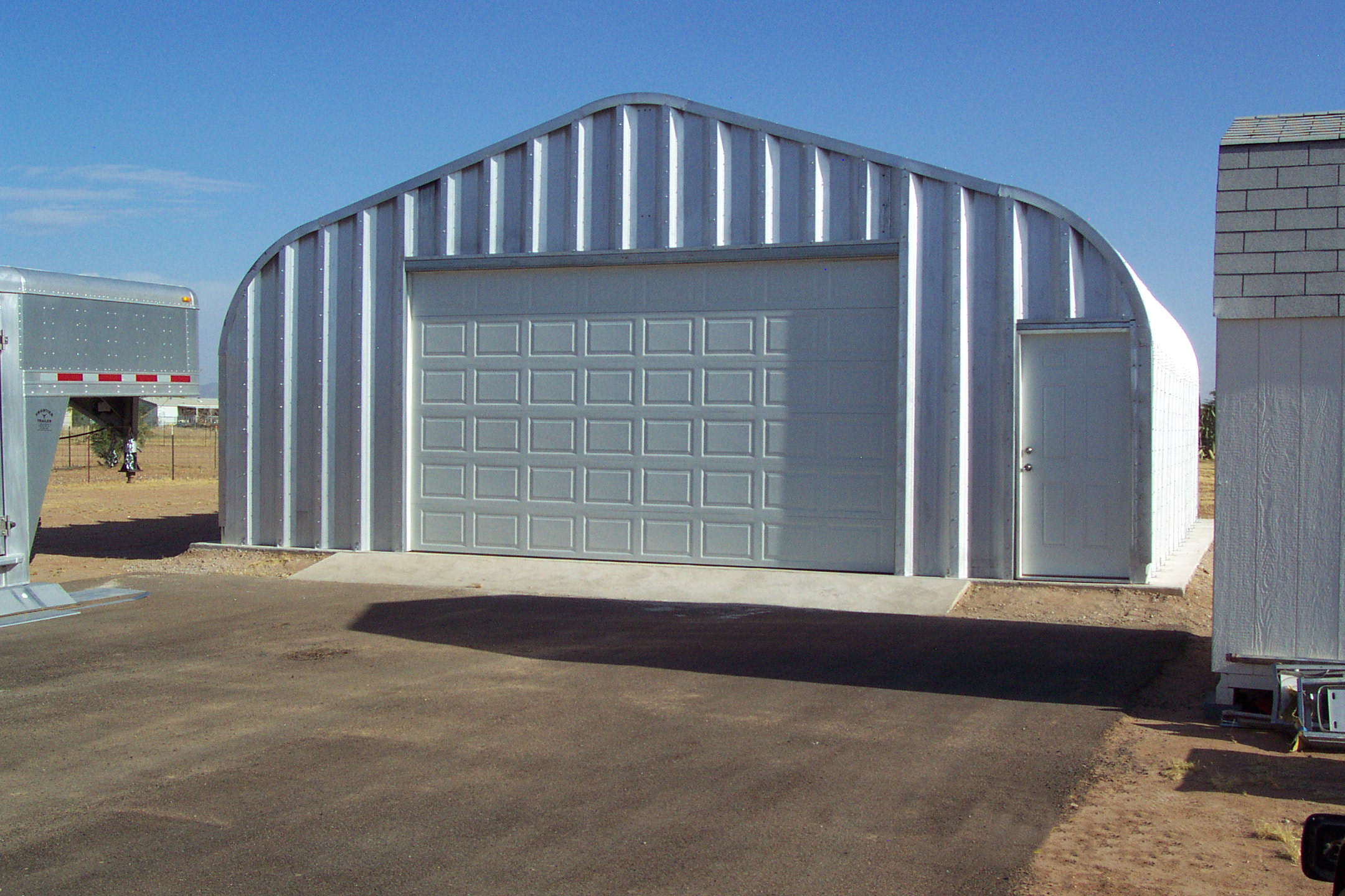 Residential Steel Buildings - by International Buildings